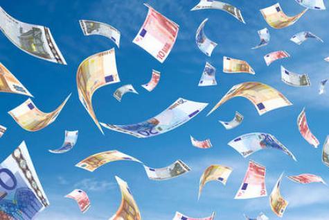Euros volant