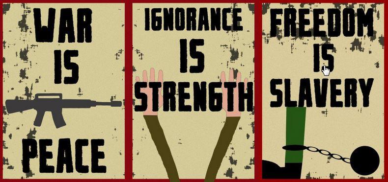 1984 Ministère de la vérité
