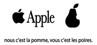 Apple vous prend pour des poires