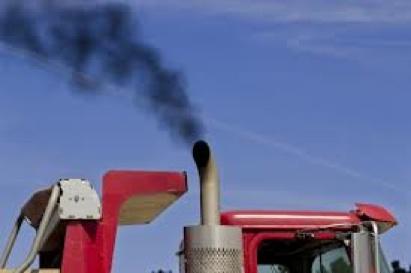 Camion qui fume