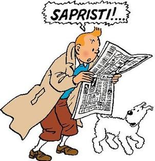 Tintin lit